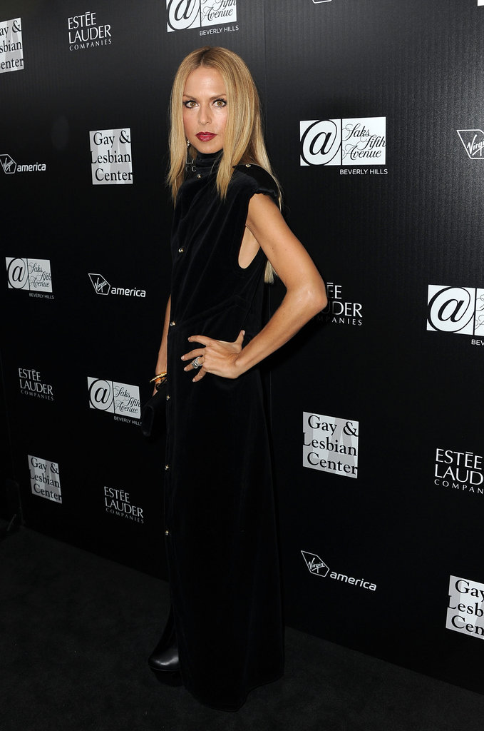 Rachel Zoe attended the Los Angeles Gay and Lesbian Center's homeless youth services benefit.