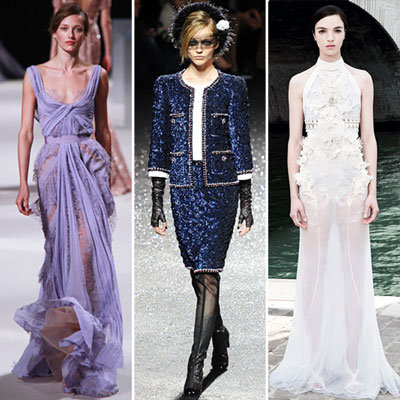 Best Couture Dresses 2012