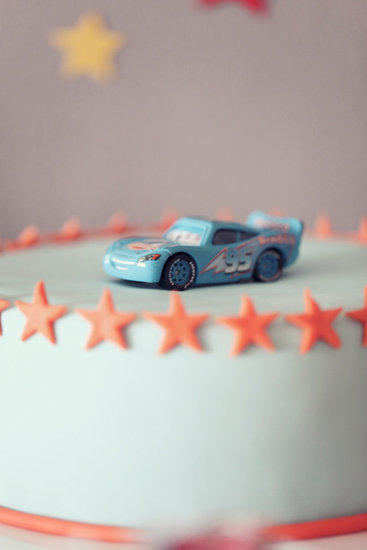 Cars Birthday Cake