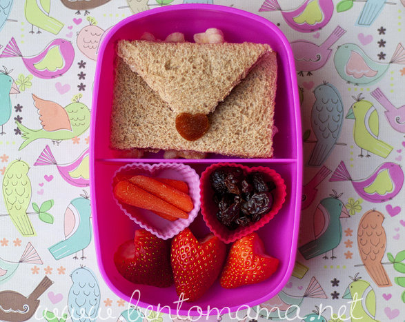 Love Letter: Valentine's Day Bento Lunch Ideas