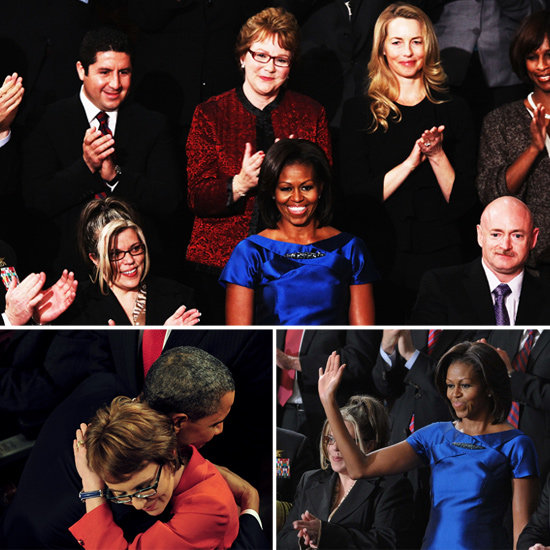 Michelle Obama, Laurene Powell Jobs, and Gabrielle Giffords Witness the State of the Union