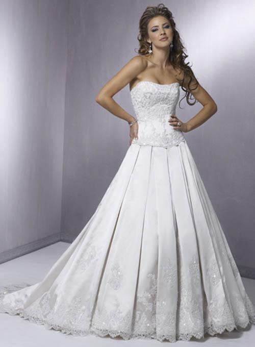 Corset wedding dresses for