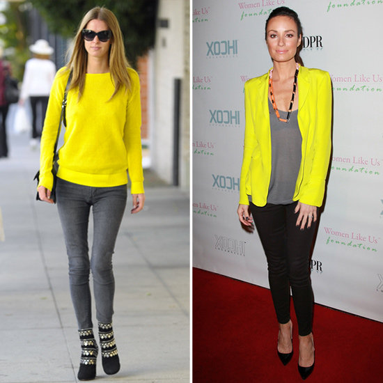 Nicky Hilton and Catt Sadler Brighten LA — Go Neon Too!