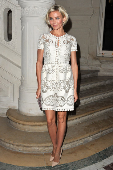 Cameron Diaz Goes Short and Sweet For Valentino