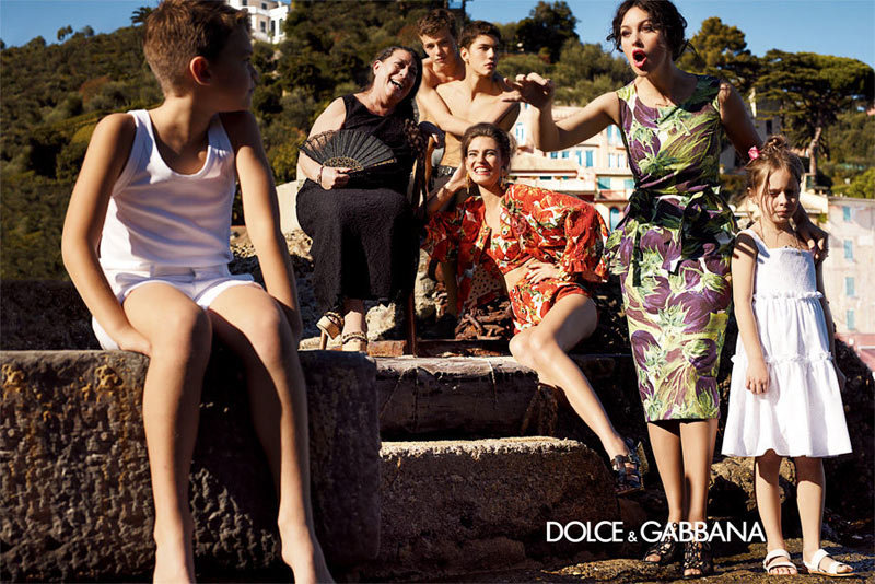 Monica Bellucci stars in Dolce & Gabbana's Spring '12 campaign. Source: Fashion Gone Rogue