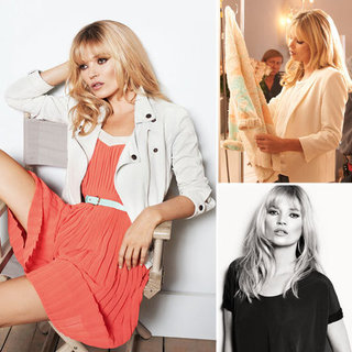 Kate Moss For Mango Ad Campaign
