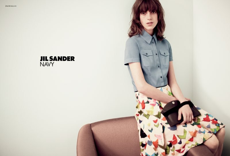 Jil Sander Navy, Spring 2012 Source: Fashion Gone Rogue