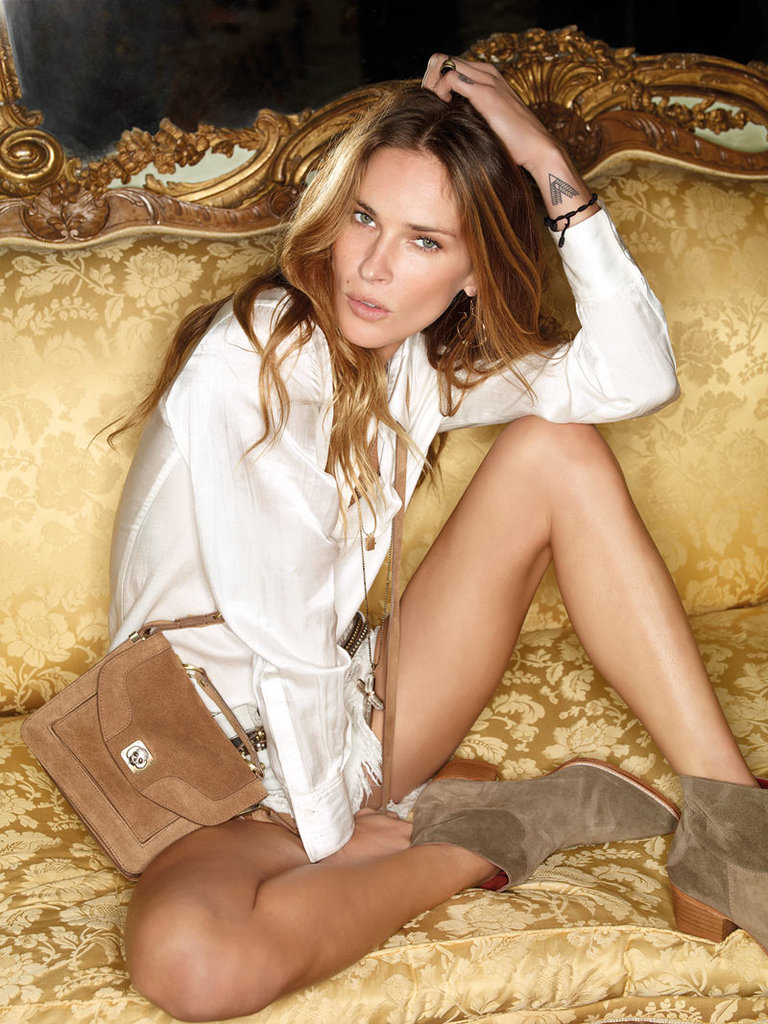 Erin Wasson for Zadig & Voltaire, Spring 2012 Source: Fashion Gone Rogue