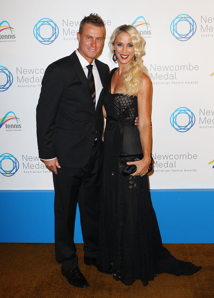 Lleyton and Bec Hewitt