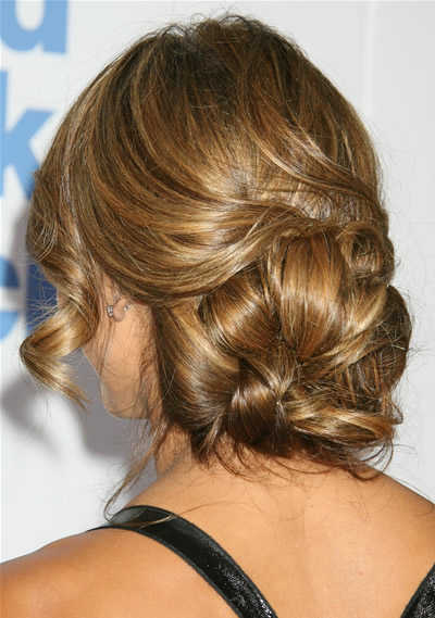 Bridal Hairdos on Low Wedding Hairstyles B