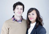 Andy Samberg and Rashida Jones took a lovely pic for Celeste and Jesse Forever.