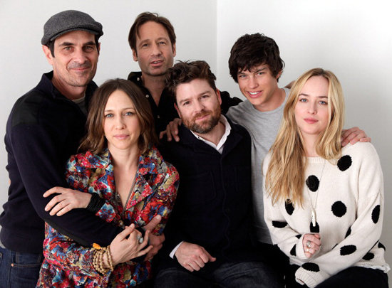 Ty Burrell, Vera Farmiga, David Duchovny, Christopher Neil, Graham Phillips, and Dakota Johnson got close to promote their film Goats.