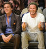 David Beckham Pictures at Lakers Clippers Game