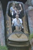 Reese Witherspoon and Jim Toth rode Disneyland's Splash Mountain with Ava and Deacon late last year.