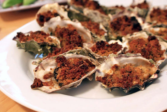 Baked Oysters New Orleans Style | POPSUGAR Food