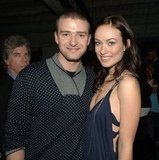 Justin Timberlake and Olivia Wilde stopped for photos at the Hollywood premiere of Alpha Dog in 2007.