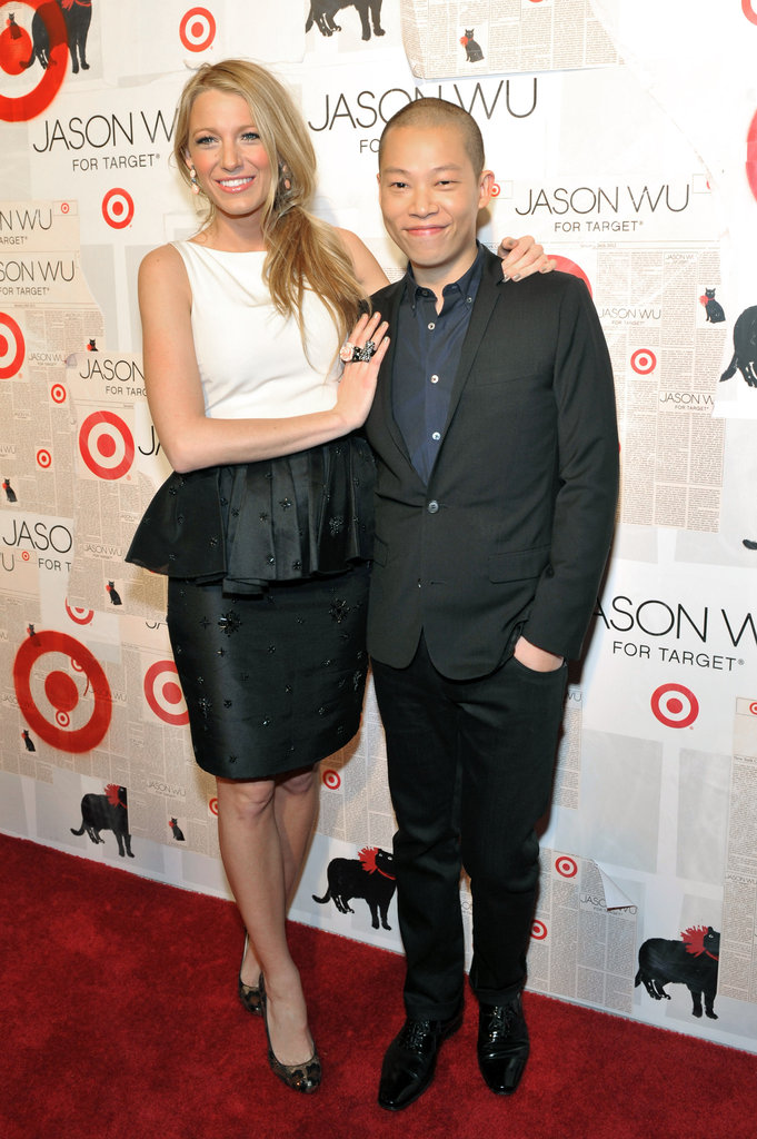 Blake Lively posed with Jason Wu.