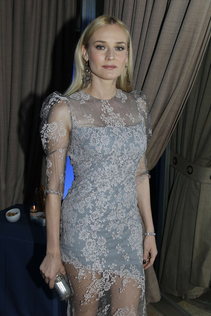 Diane Kruger looked gorgeous at the Sidaction bash.