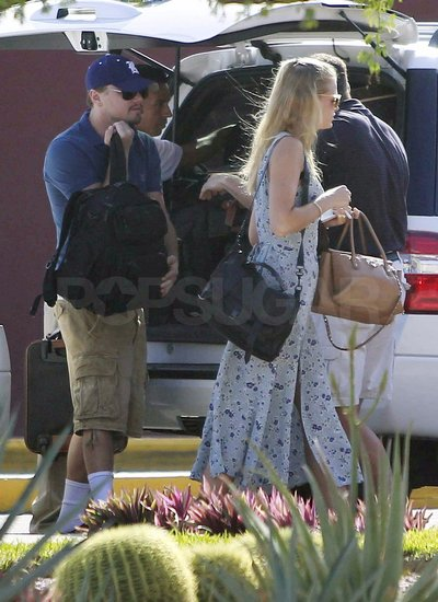 Leo and Erin Escape to Mexico For a Pre-SAG Awards Getaway!