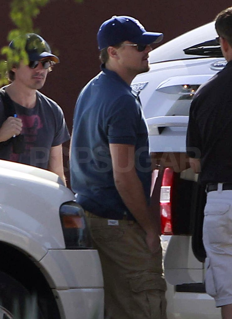Leonardo DiCaprio was joined by his best friend Lukas Haas on a quick getaway to M