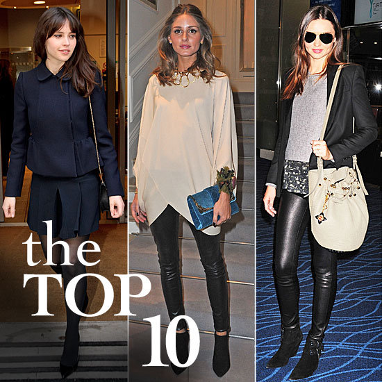 Fab's Top 10 Celebrity Looks of the Week — Felicity, Olivia, Miranda, and More!