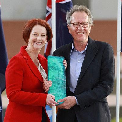 Geoffrey Rush Named 2012 Australian of the Year