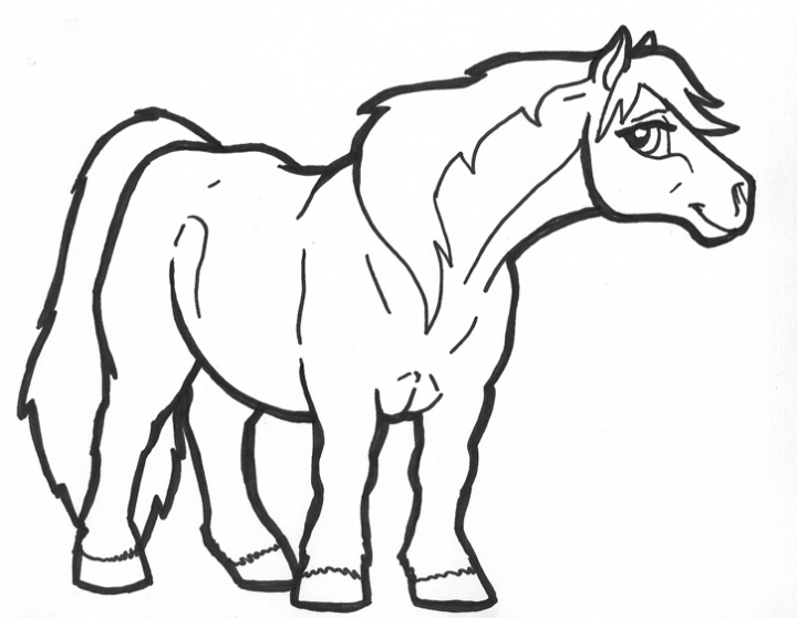 Pretty Pony Coloring Pages Coloring Coloring Pages Pony Coloring Pages