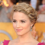 Dianna Agron's Textured Fishtail