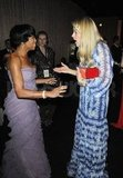 Busy Philipps chatted up Regina King in the SAG Awards green room.