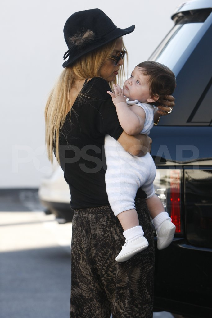 Rachel Zoe looked so cute with her son Skyler Berman.