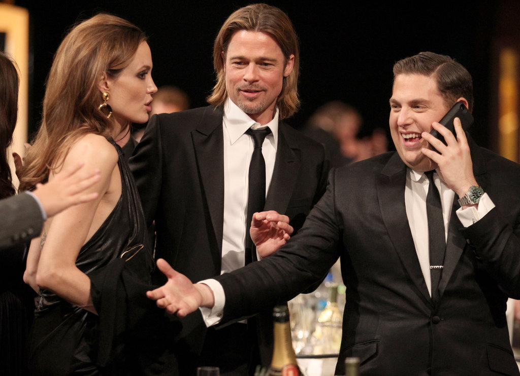 Angelina Jolie, Brad Pitt, and Jonah Hill hung out.