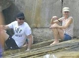 Naomi Watts and Liev Schreiber spent Sunday at the beach in Sydney.