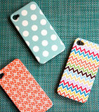 Check out Pencil Shavings Studio's polka dots, chevron stripes, and fun prints ($40).