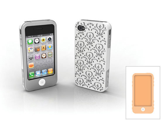 Sport some Victorian flair with the Bordeaux iPhone 4/4S case ($33).