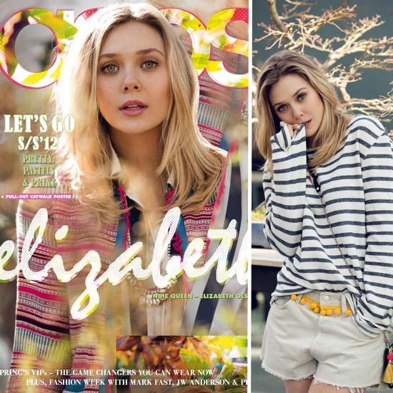 Elizabeth Olsen For Asos Magazine Spring Issue
