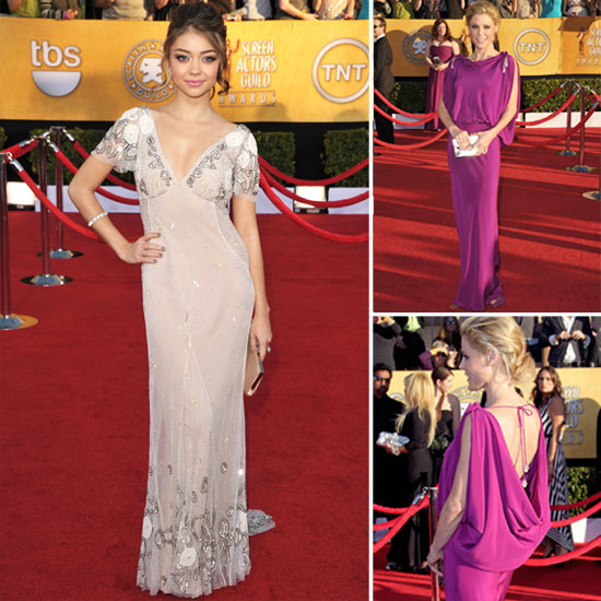 Julie Bowen and Sarah Hyland at the SAG Awards 2012