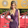 Renee Bargh in Purple Basil Soda Dress Pictures at 2012 SAG Awards