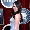 Lea Michele Sexy Leg Pictures in Versace Dress at 2012 SAG Awards