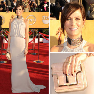 Bridesmaids Star Kirsten Wiig Goes Glam in Balenciaga at the 2012 SAG Awards. Like it?
