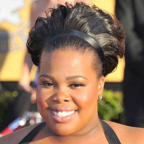 Glee's Amber Riley's Hair and Makeup at the 2012 SAG Awards