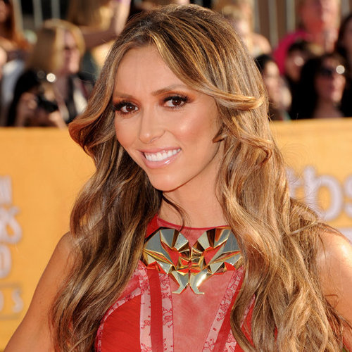 Giuliana Rancic's Hair and Makeup at the 2012 SAG Awards