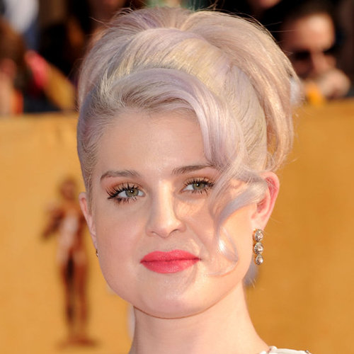 Kelly Osbourne's Hair and Makeup at the 2012 SAG Awards