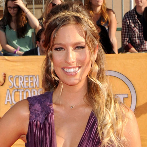 Renee Bargh's Hair and Makeup at the 2012 SAG Awards