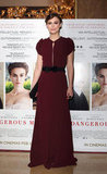 Keira Knightley at the London premiere of A Dangerous Method.