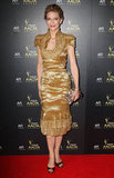 Cate Blanchett went for gold at Sydney's 2012 AACTA Awards.