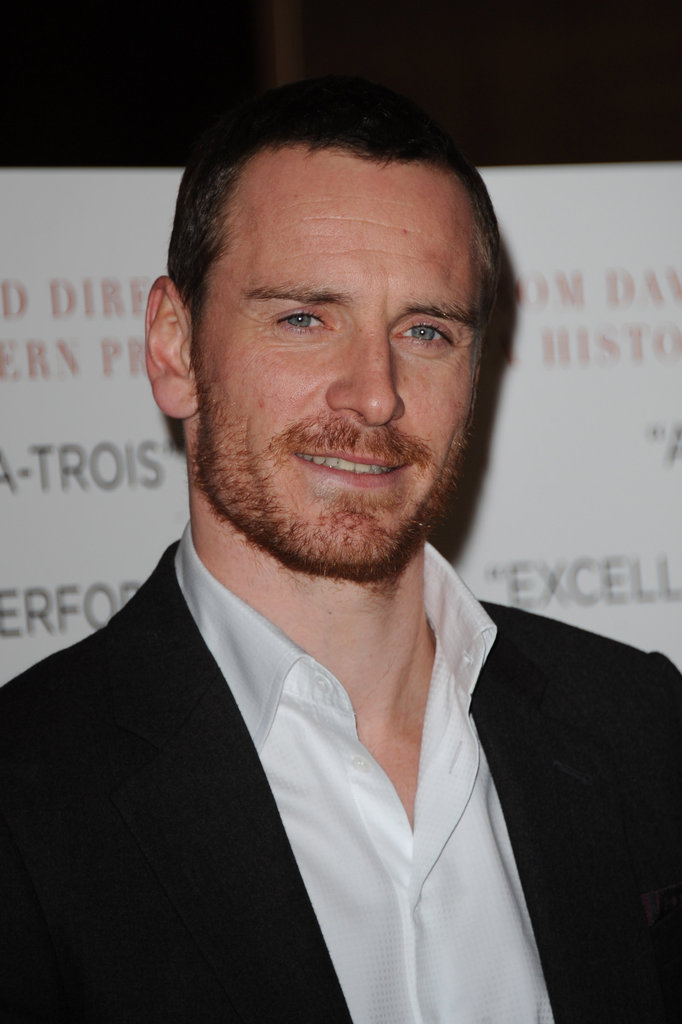 Michael Fassbender was super hot in London.