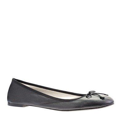 Women's shoes - ballets - Classic leather ballet flats - J.Crew