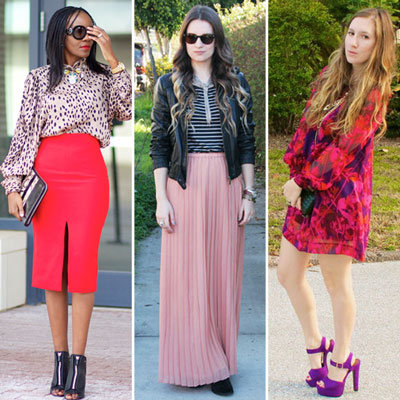 Styling Tip: Wear Pinks and Reds For Valentine's Day