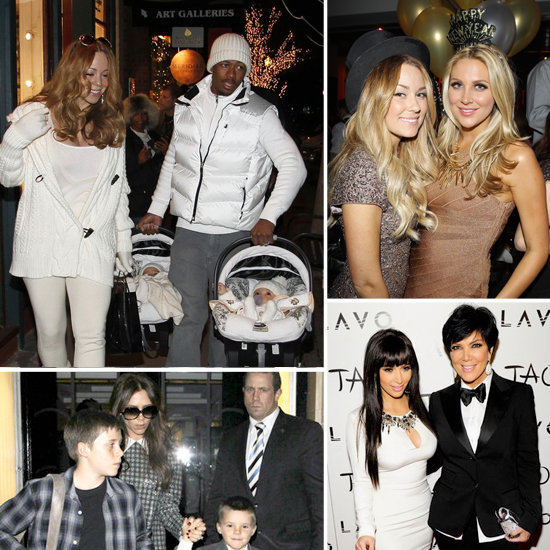 See How the Stars Celebrated New Year's Eve!