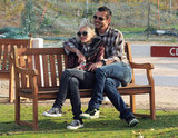 Gavin Rossdale put his arms around Gwen Stefani as they watched their boys play at a California park in January 2012.